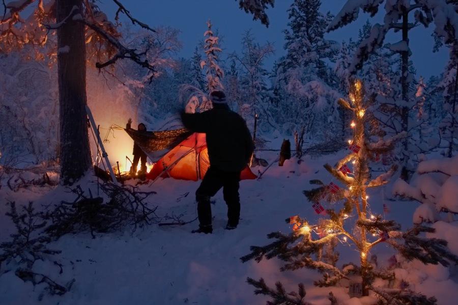 Å feire jul i villmarka