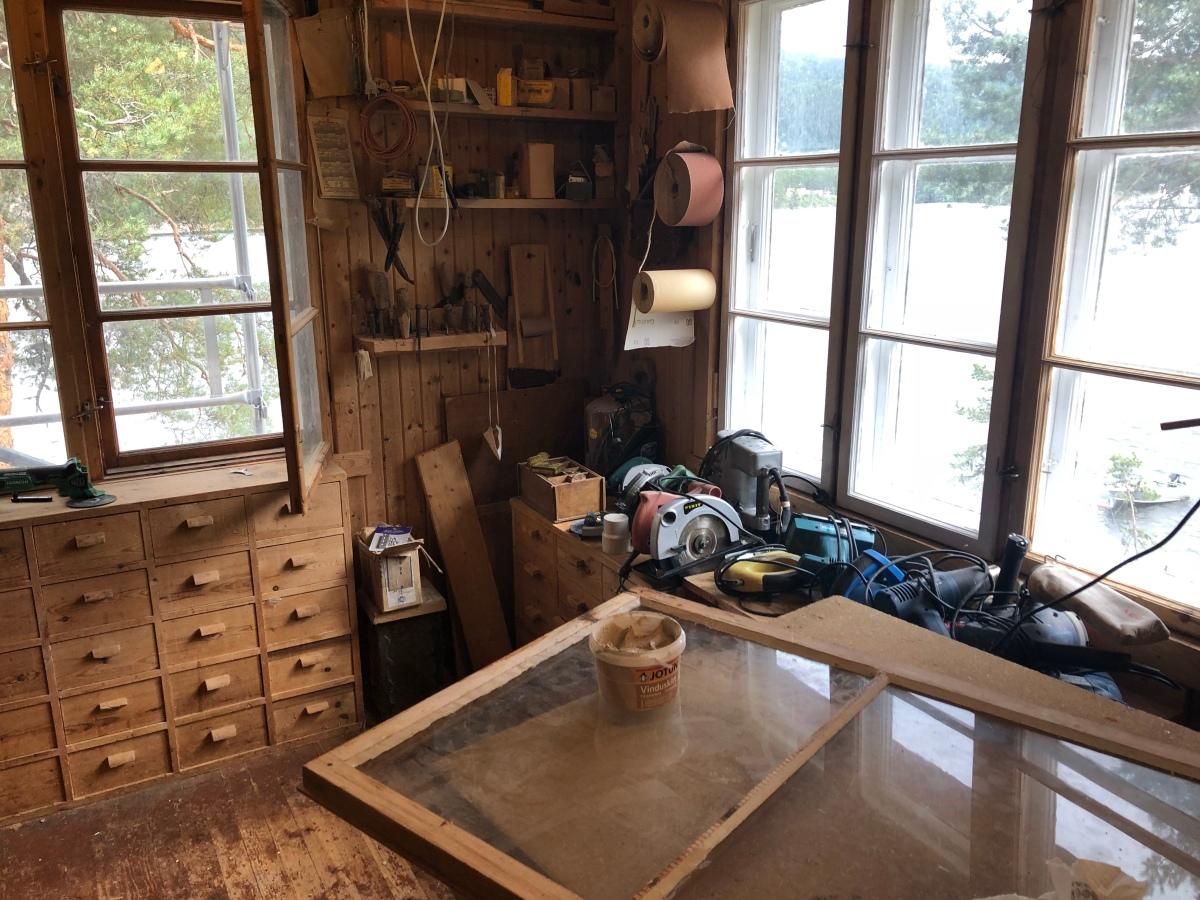 Restaurere vinduer
